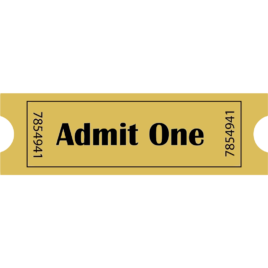Single Concert Ticket – Adult
